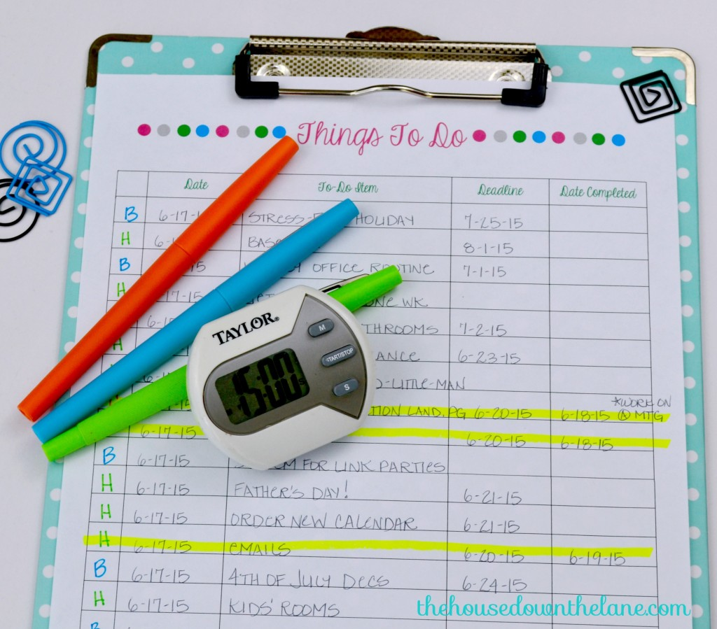 6 Ways My Timer Saves My Sanity and a Free Printable from thehousedownthelane.com.