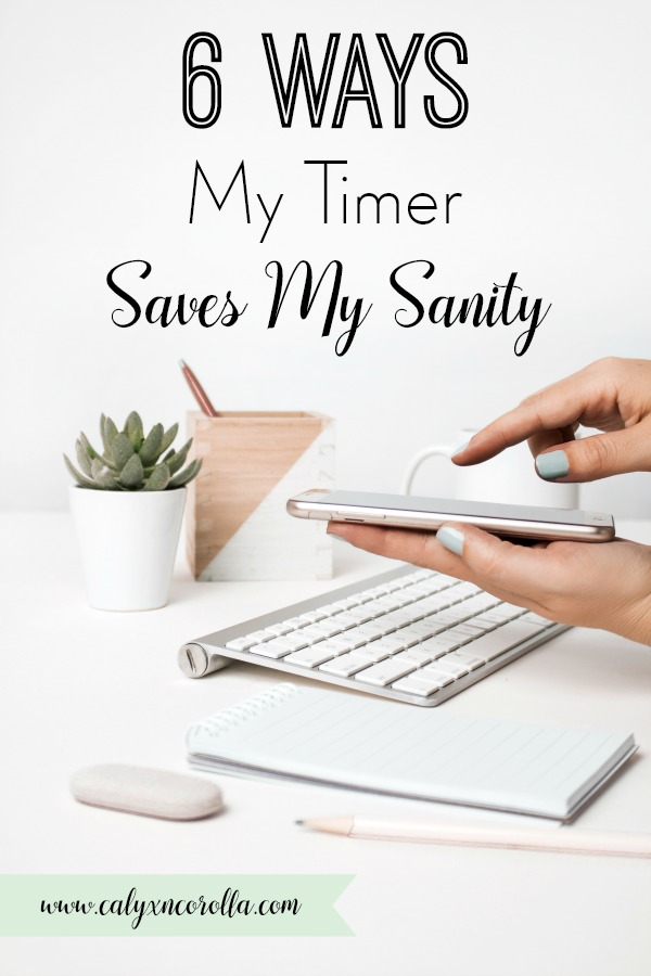"""Owning a business is synonymous with long to-do lists. How do you stay focused and get all those tasks done? There's one basic productivity tool that helps me get more done at work and at home: my timer! I love my timer, and want to share my """"timer"""" time management tips with you along with a free printable! Don't miss all of the ways a timer can help you hack your task list and get those to-do's done! #timemanagement #productivity #printable #printables #productivitytools #todolist #tasklist #increaseproductivity"""