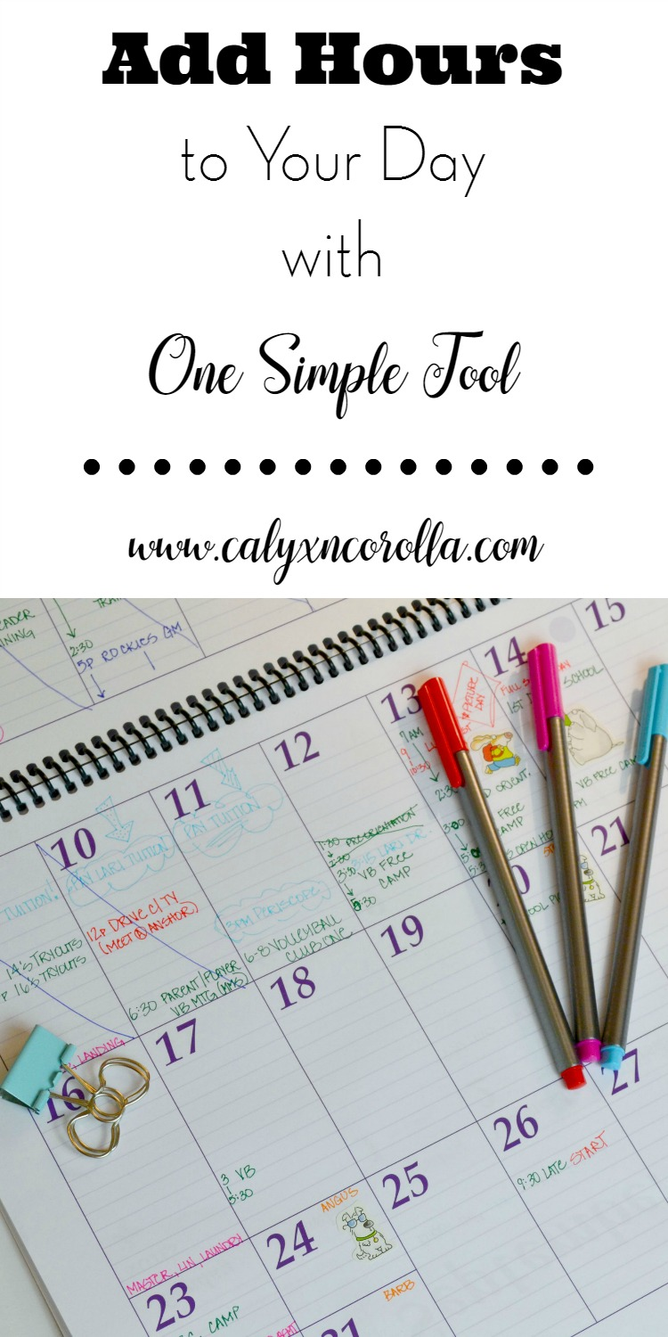 Tired of forgetting important events and appointments? Sick of feeling rushed and disorganized? There's help, and it comes in the form of very simple tool. Allow me to re-familiarize you with your calendar!