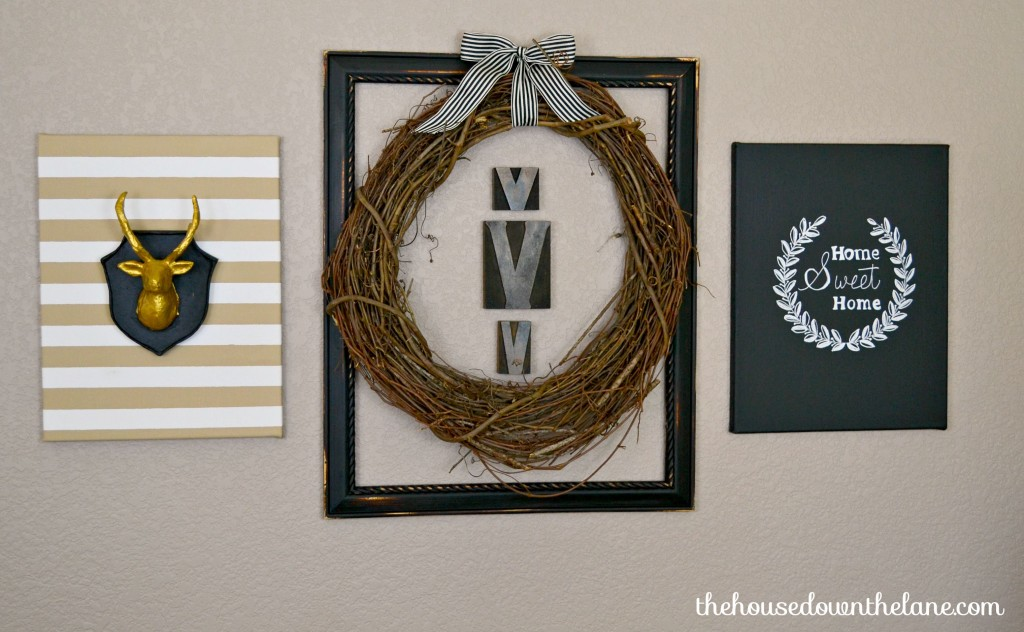 DIY Wall Art Flip Flop: Nature-Inspired Canvas Creations |The House Down the Lane