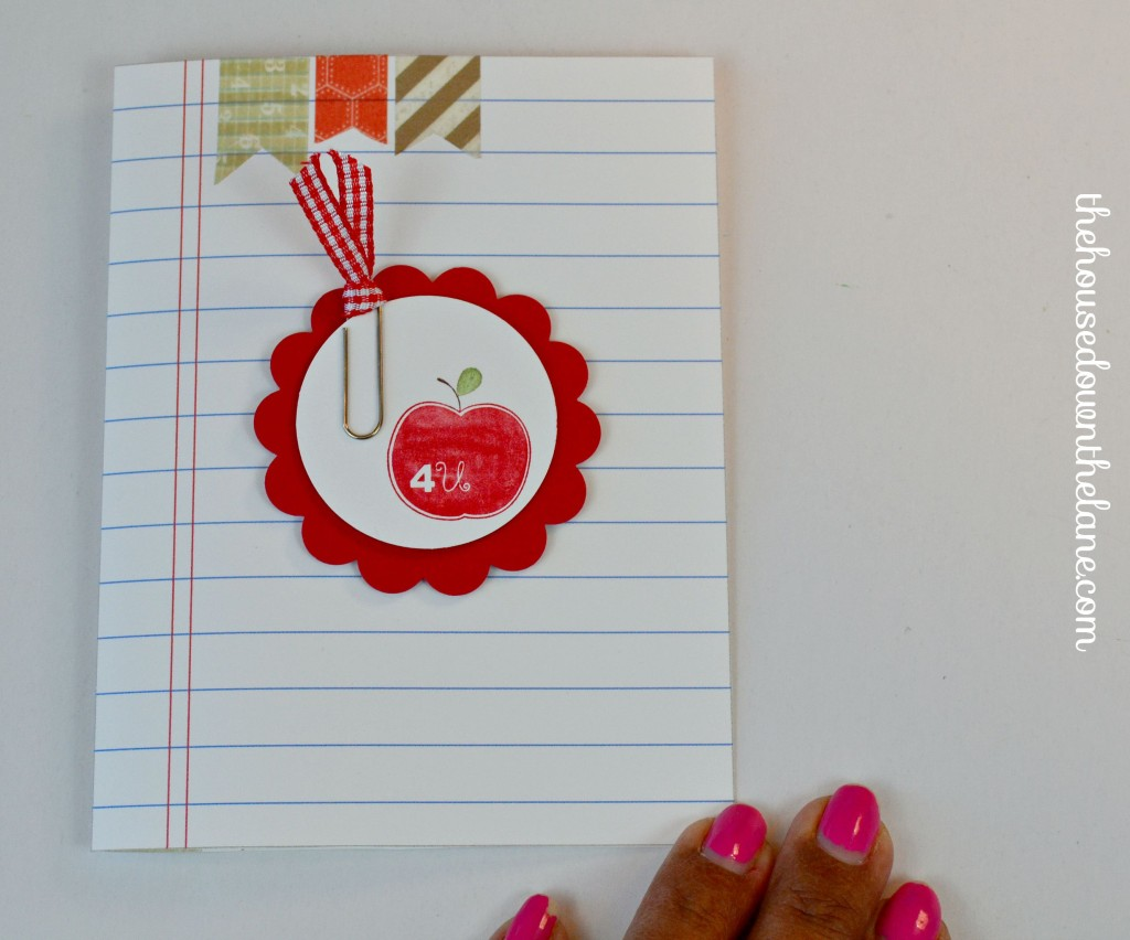 This year for back-to-school, I wanted to give my kids' teachers a little treat to welcome them to a new school year! Since each kid has 6+ teachers, it had to be on the cheap side, but still be a quality gift. I decided on this Cute & Cheap Back to School Teacher's Gift! From thehousedownthelane.com