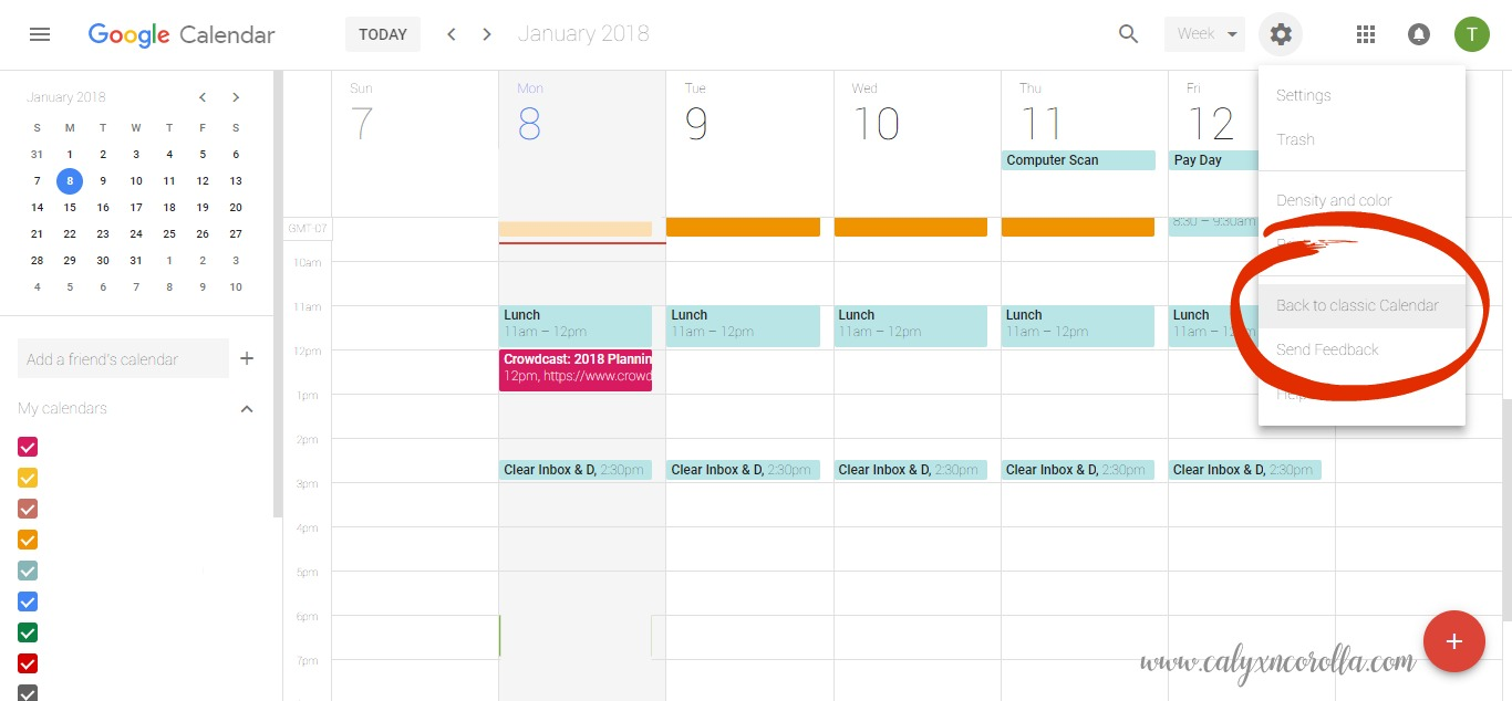 Tired of forgetting important events and appointments? Sick of feeling rushed and disorganized? There's help, and it comes in the form of very simple tool. Learn how to add hours to your day with one simple tool!   Calyx and Corolla