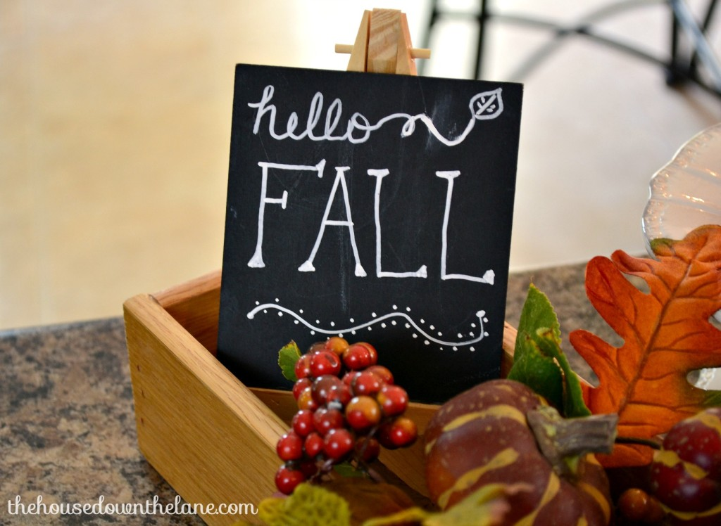 Welcome to my Fall Home Tour with Natural Accents, Part 2! There's nothing I love more than bringing the outside in, so that's just what I did for my very first home tour! | The House Down the Lane