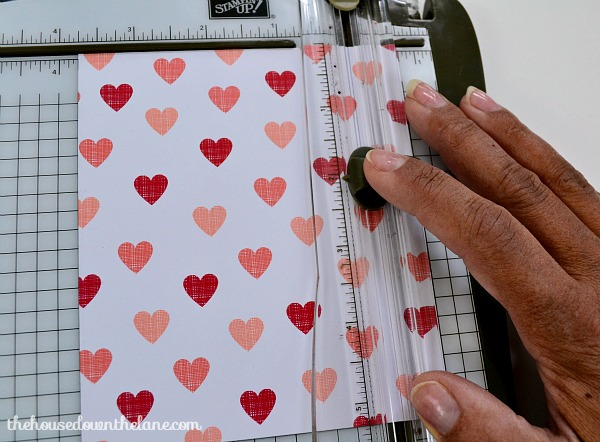 DIY Personalized Valentine's Gift Bag for a Valentine's Breakfast   The House Down the Lane
