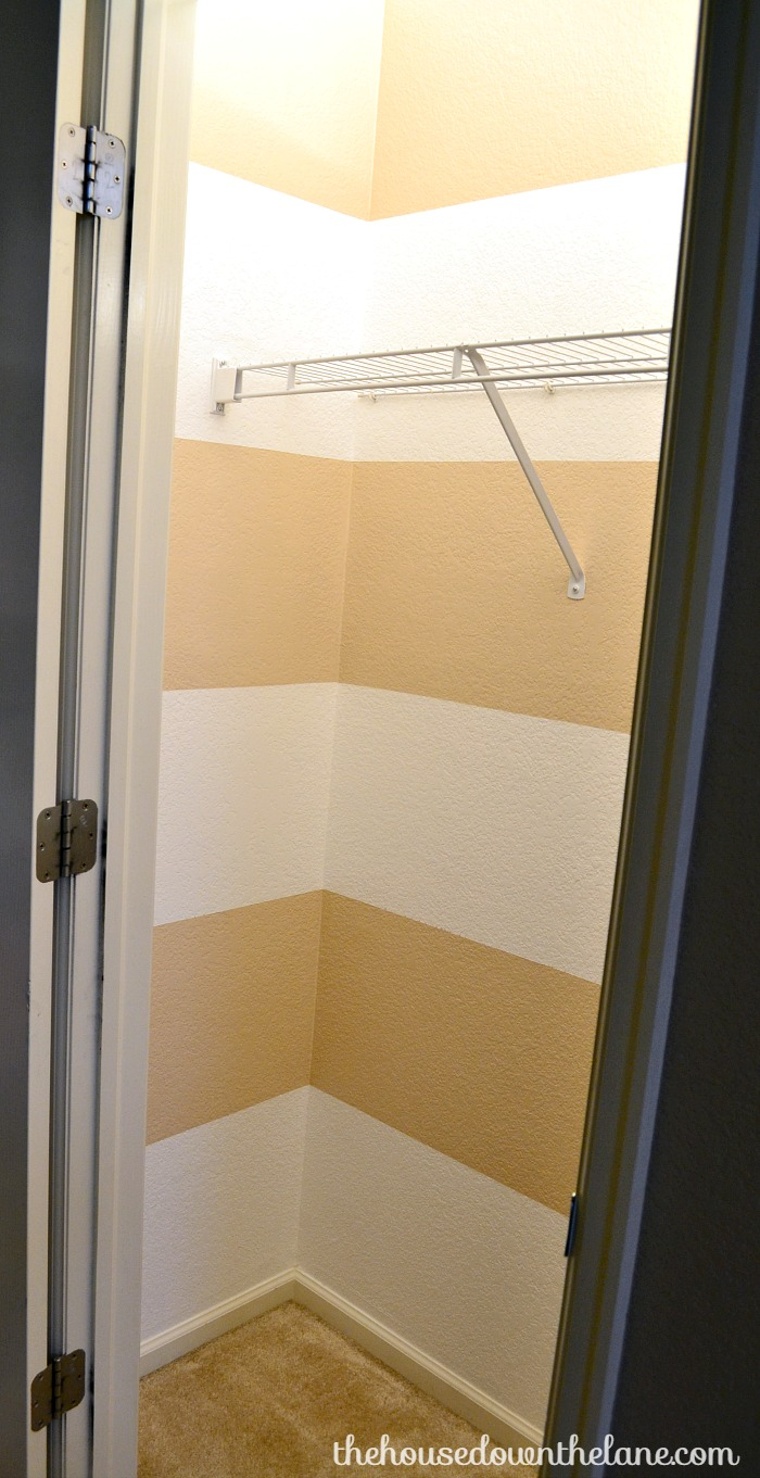 Hall Closet Makeover: Paint & Organize | The House Down the Lane