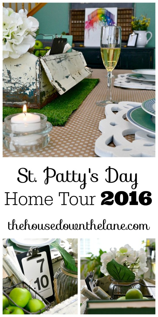 St. Patty's Day Home Tour 2016 | The House Down the Lane