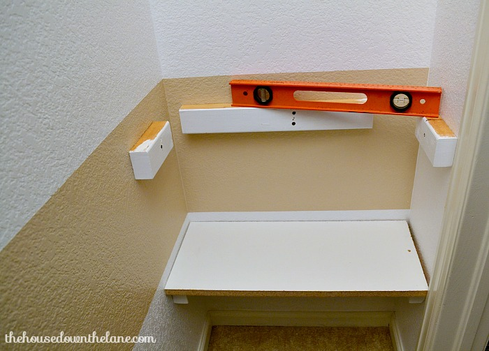 How to Add DIY Shelves in a Closet | Calyx and Corolla