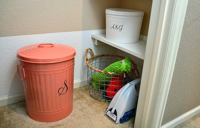 Hall Closet Makeover: Full Reveal and a Printable