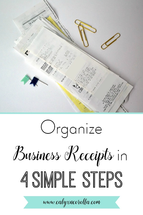 It can be a struggle to organize business receipts, but this task doesn't have to be difficult or time consuming. You can record, organize, and store your business receipts with just a few steps, and they'll be easily retrieved and well organized when you file your taxes. #bookkeeping #diybookkeeping #officeorganization #paperclutter #paperorganization #organization