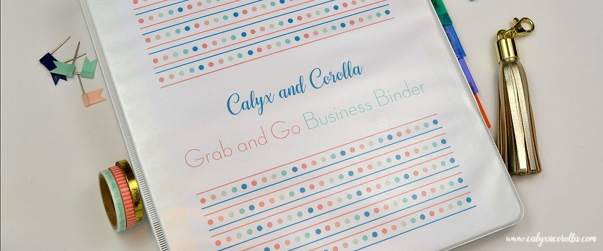 Create a Grab and Go Business Binder (In Case of an Emergency)