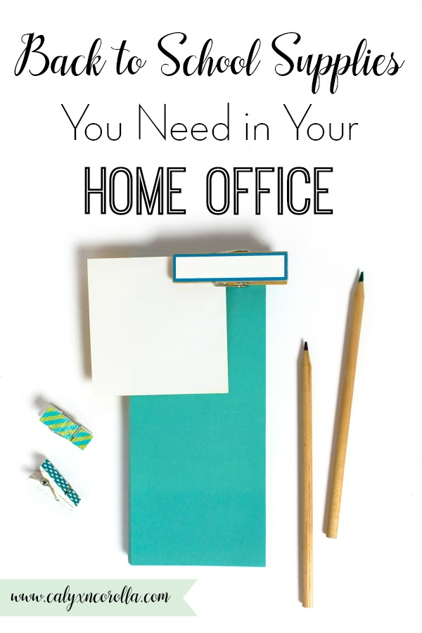 I used to love back to school time as a kid, and I still love it as an adult thanks to my addiction to back to school supplies! I still like to snag the must have cute and cool back to school supplies to use in my home office. Don't miss the essential back to school supplies you need in your home office! #backtoschool #backtoschoolsupplies #officesupplies