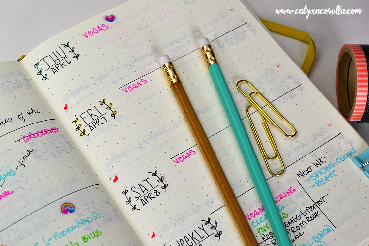 Getting started on a bullet journal can be overwhelming and intimidating, so I'm sharing the things I learned in my first year of bullet journaling to help you know what to expect, to plan more efficiently, and to share my new-found love of this planning tool! #bulletjournal #bujo #planner