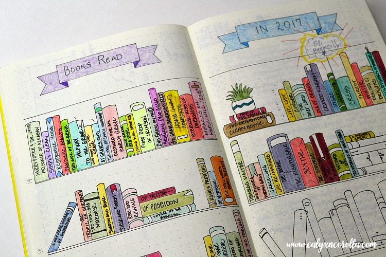 Getting started on a bullet journal can be overwhelming and intimidating, so I'm sharing the things I learned in my first year of bullet journaling to help you know what to expect, to plan more efficiently, and to share my new-found love of this planning tool! #bulletjournal #bujo #planner #bujocollection