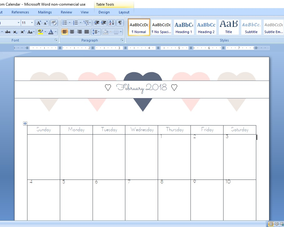 Calendars have helped me to significantly improve my time management and organization. I use them all the time for many different purposes! But sometimes it's difficult to find a calendar that's just right. And more often than not, it's impossible to find the perfect calendar for a specific purpose. So what to do? Design a custom calendar, of course! Here's how to create a custom calendar in Word!   Calyx and Corolla