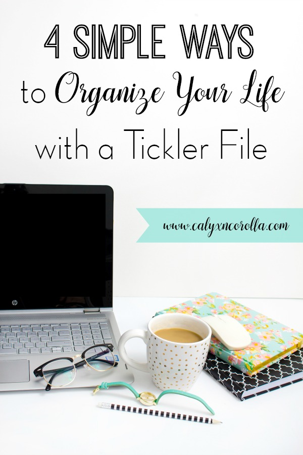 Don't lose any more sleep over managing the tasks, projects, and appointments in your life. A tickler file system can help you organize all the things related to work and home. And this office organization system is affordable and easy to set up and use. Don't miss these tips and ideas for how to organize your life with a tickler file! #organization #officeorganization #organize #productivity #timemanagement #paperclutter