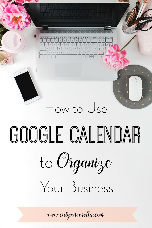 It's a challenge to organize and manage any business, but run that business at home, among family and household responsibilities, and that challenge quickly becomes a staggering undertaking. But there's help in the form of one adaptable tool. Learn how to use Google Calendar to organize your home business! #organization #officeorganization #timemanagement #productivity