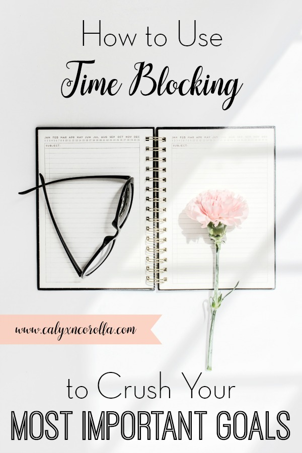 There's always so much to do in a day. But there is a way to create a schedule that includes time for your must-do tasks and time for building your business! Using this time blocking technique and planner printable, you'll determine your most important tasks at home and at work and create a daily schedule that includes time for both! Don't miss these tips on how to use time blocking to crush your most important goals. #timeblocking #schedule #tasklist #todolist #goals #timemanagement #productivity #workfromhome